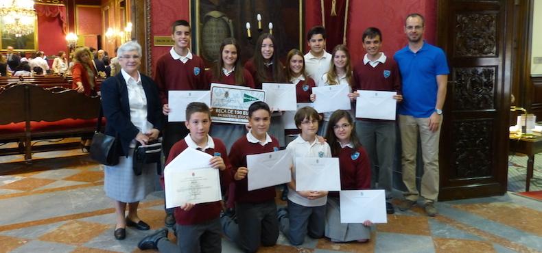 Alumnos nominados por el Ayuntamiento