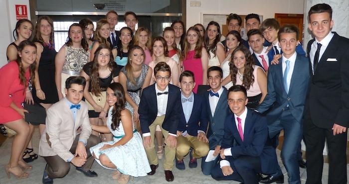 Acto de graduación de los alumnos de 4º ESO 2015