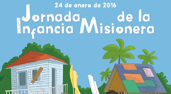 24 Enero: Jornada Infancia Misionera