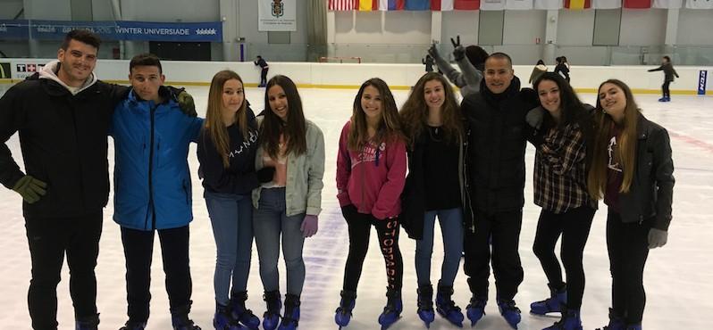 3º y 4º ESO: Fin de trimestre patinando sobre hielo
