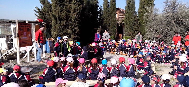 "Visita a la Granja-escuela ""Doña Filomena"""