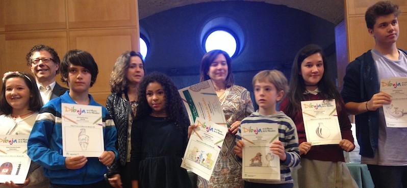 Primer premio dibujo de la Alhambra