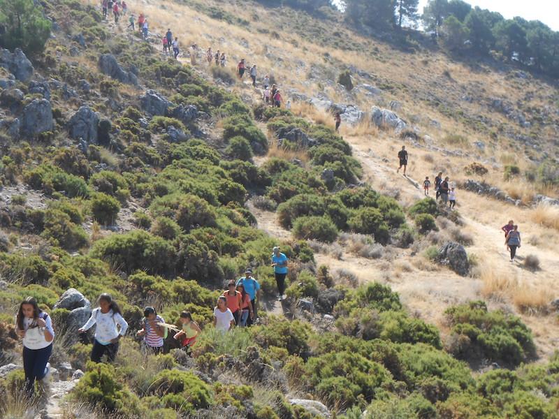 Convivencia organizada por la AMPA y el Club de Montaña