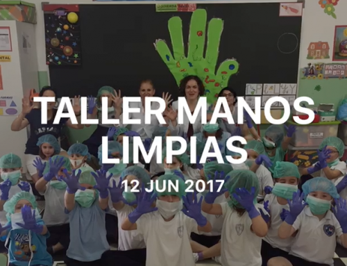 Infantil: Taller de manos limpias