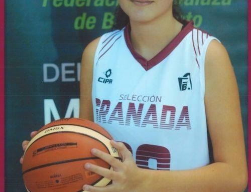 Elvira López, elegida para la Selección Provincial Granadina de Baloncesto