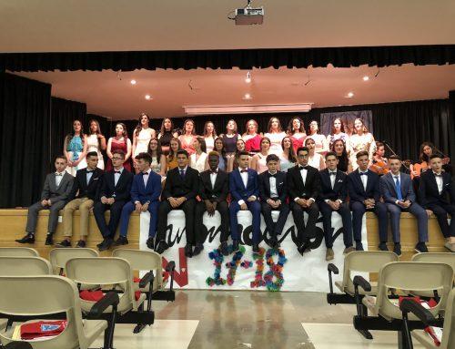 Graduación de los alumnos de 4º de ESO 2018
