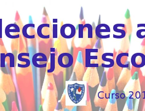 Elecciones a Consejo Escolar 2018