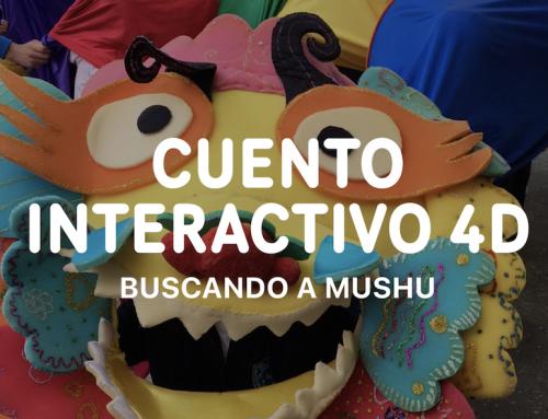 Cuento interactivo en 4D en Infantil