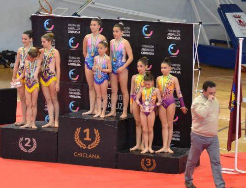Natalia y Daniela Ruiz consiguen medalla en el campeonato de Andalucía de gimnasia acrobática