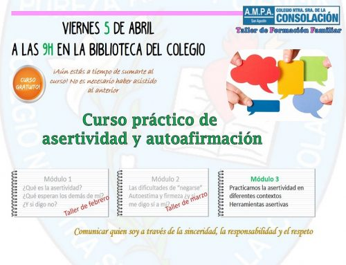 Taller de Formación Familiar: Abril 2019