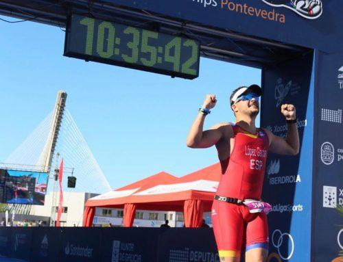 El profesor Javier López participa en el Campeonato del Mundo de Triatlón de larga distancia