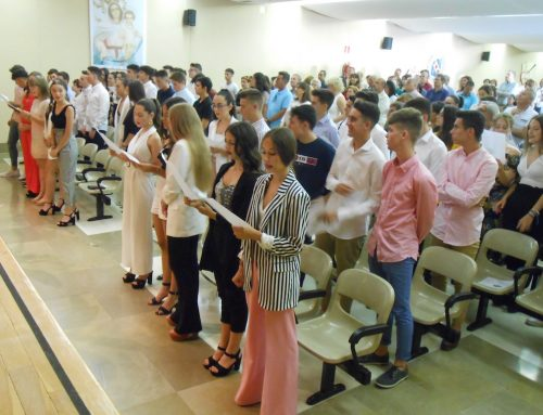 Eucaristía de graduación alumnos 4º ESO