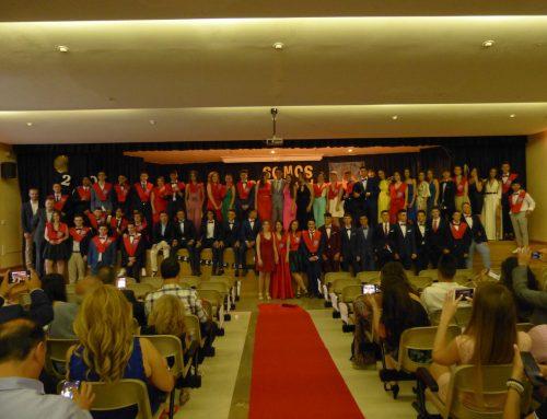 Graduación de los alumnos de la promoción 2019