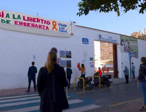 """Manifestación contra la """"Ley Celaá"""""""