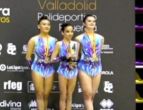 Daniela Ruiz hace pódium en campeonato de España de gimnasia acrobática