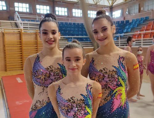 Daniela y Natalia, participan en el Campeonato de Andalucía de Acrobática