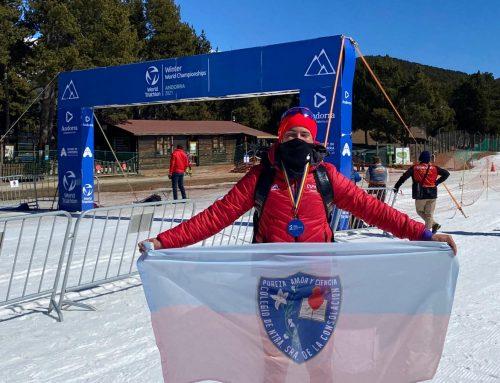 Orgullosos del profesor Javier López y su participación en el Triatlón de Invierno