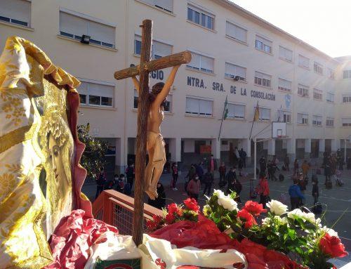 Vía Crucis en el Colegio