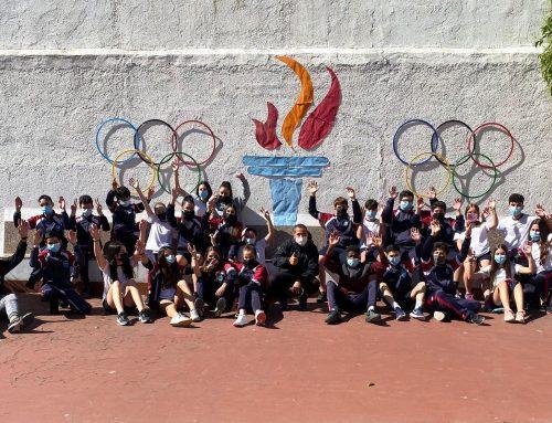 La Llama Olímpica llega al Colegio Nuestra Señora de la Consolación